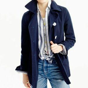 J.Crew Cotton pea coat